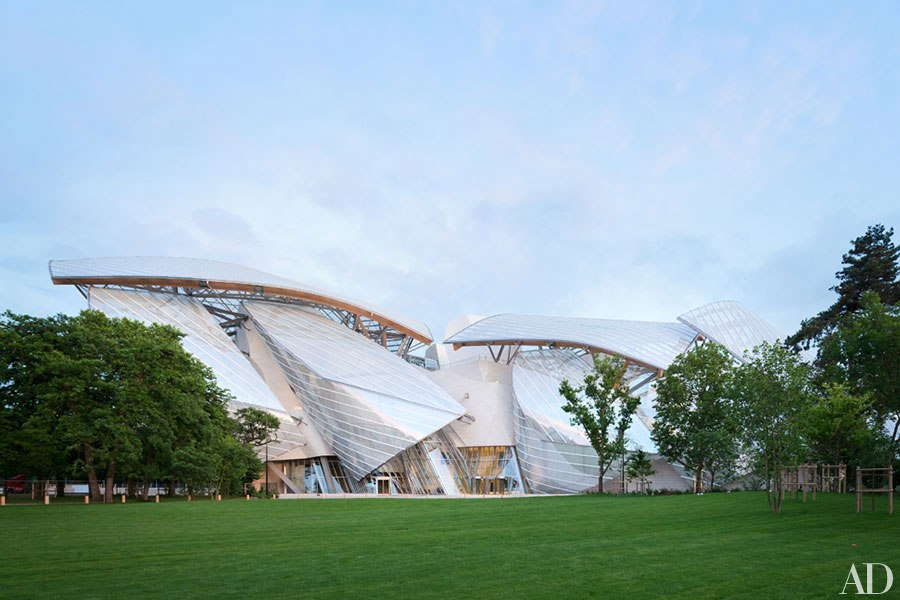 Did you see Louis Vuitton's Swirling Glass Sails?